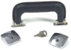 Replacement Handle and Lock Kit, Chrome -- 35674