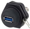 Harsh Environment USB 3.0 Type A/M to A/F Coupler -- MUS3C00002 - Image