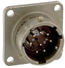 ITT CANNON - MS3110F24-61SX - CIRCULAR CONNECTOR RCPT, SIZE 24, 61POS, WALL -- 417542