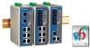 DIN-Rail Managed Ethernet Switch -- EDS-408A 3FO - Image