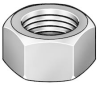 Hex Nut,Heavy,1 1/2-6,2 3/8 In W -- 1XA54