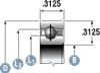 Silverthin Bearing SB Series - Type C