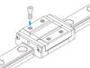 Miniature Linear Motion Guide w/ Plate Type RSH-Z -- RSH12ZM-Image