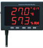 Jumbo LED display temperature/humidity datalogger -- GO-30005-20