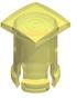 T-1 3/4 Lens Cap-Yellow -- 8688 - Image
