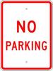 No Parking Sign -- R-70RA5