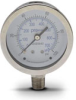 0-100 psi / 0-700 kPa Pressure Gauge with 2.5 inch mechanical dial -- G25-SD100-4LS - Image