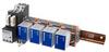 DC Surge Protector SPD RRPA Indoor DIN-Rail Assy 24, 48 Vdc, 20 kA SASD, GDT MOV 1x DTA + 4x DRI -- RRPA-DTADRI-4 -Image
