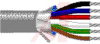 Cable; 10 cond; 24AWG; Strand (7X32); Foil shielded; Chrome jkt; 1000 ft. -- 70005256 -- View Larger Image