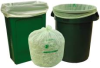 LINER COMPOSTABLE 33X40 1.0ML GREEN 25/RL 8/CS -- NTINT1025-X-00012