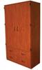 Teacher's Storage Unit With Doors, Adj Shelves, 4 Drawers