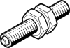 Pneumatic shock absorber -- DYEF-M4-Y1 -- View Larger Image