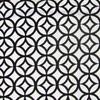 Circle Medallian Flocked Velvet Fabric -- R-Prism -- View Larger Image