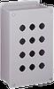 Deep 22.5-mm Pushbutton Enclosures, Type 12 -- E2PBGXM