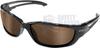 Edge Kazbek XL Polarized Safety Glasses with Copper Driving -- TSK-XL215