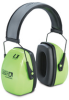 Howard Leight Leightning High Visibility Noise Blocking Earmuffs -- HLI110