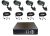 4 Camera Infrared Package with DVR