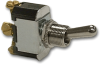 Carling Technologies 2FC54-78 Toggle Switch, Sealed Metal, 15A, SPDT, On-Off-On -- 44256 - Image