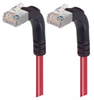 Category 6 Shielded LSZH Right Angle Patch Cable, Right Angle Up/Right Angle Up, Red, 20.0 ft -- TRD695SZRA5RD-20 -Image