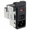 Power Entry Connectors - Inlets, Outlets, Modules -- 1-6609946-1-ND - Image
