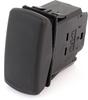 EATON SVR Sealed Rocker Switch, 12A, 12V/24V, (On)-Off-(On), DPDT, SFRMXXCXXXXXXXX -- 43210 -Image
