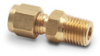 Brass Compression Fitting for 1/4 inch diameter temperature probes -- BCF14-25N - Image
