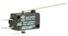 MICRO SWITCH V15 Series Standard Basic Switch, 16 A, long straight lever, 6,35 mm x 0,80 mm quick connect terminals, SPDT, 100 gf [0,98 N] -- V15H16-CZ100A03-K -Image