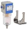 Pneumatic / Compressed Air Filter: 1/8 inch NPT female ports -- AF-213 - Image