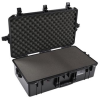 Pelican 1605 Air Case with Foam - Black | SPECIAL PRICE IN CART -- PEL-016050-0000-110 -- View Larger Image