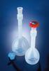 Polypropylene Plastic Volumetric Flasks w/ Stoppers -- 541595-0250