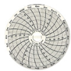 C313 - Chart Paper for Super-Compact Temperature Chart Recorders, 10 to 35C, 24 hour -- GO-80011-70