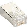 Black Box Connect CAT6 RJ-45 Modular Plugs - Shielded, 50-Pack -- C6-MP-S-50PAK