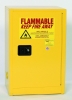 Eagle 12 gal Yellow Hazardous Material Storage Cabinet - 23 in Width - 35 in Height - Bench Top - 048441-33310 -- 048441-33310 - Image
