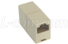 Modular Coupler, RJ45 (8x8), Straight Wired -- TDG1026-8C