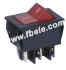 Double-poles Rocker Switch -- IRS-202-2B ON-OFF - Image