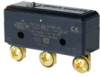 MICRO SWITCH BZ Series Premium Large Basic Switch, Single Pole Double Throw Circuitry, 15 A at 250 Vac, Pin Plunger Actuator, Screw Termination, Silver Contacts, UL, CSA, ENEC -- BZ-2R291-P4 -Image