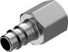 Quick coupling plug -- NPHS-S6-M-G38F - Image