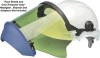 Elvex ARC-Shield With Green Anti-Fog Shield and Chin -- FS-20ARC10