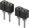 Rectangular Connectors - Headers, Receptacles, Female Sockets -- ED10864-28-ND -Image