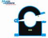 Open-close Type Current Sensor With Round Hole -- TMR7202-B - Image