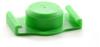 Fisnar QuantX™ 8001037 Syringe Barrel End Cap Green 30/55 cc -- 8001037