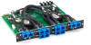 4U Gang Switch Multimode Fiber SC A/B Card Latching -- SM771A