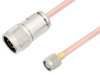 N Male to TNC Male Cable 50 cm Length Using RG401 Coax -- PE3W05651-50CM -Image
