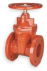 Gate Valve,Flanged,2 1/2 In,Ductile Iron -- 1WPD5 - Image