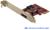 Dual Channel Serial ATA 6Gb/s (SATA 3) PCI&#8230 -- PESA233