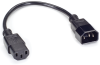 1-ft. Power Cord IEC-60320-C13 to IEC-60320-C14 -- EPXR26 - Image