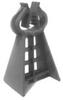 Con-Plas 10RCC75 Plastic Rebar Clip Chair, Grey 75mm (3