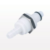PLC Series Coupling Insert, Straight Thru Acetal Panel Mount Hose Barb -- PLC42004 -Image