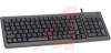Keyboard, Black 15 Inc Ultraslim USB with PS/2 Combo Interace, Numeric Keypad -- 70207487