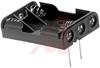 Battery Holder; AAA; Polypropylene; PC Mount; 3; Spring; PC Lug -- 70182808